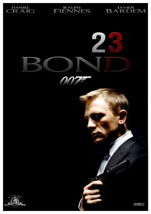 Bond 23 Poster