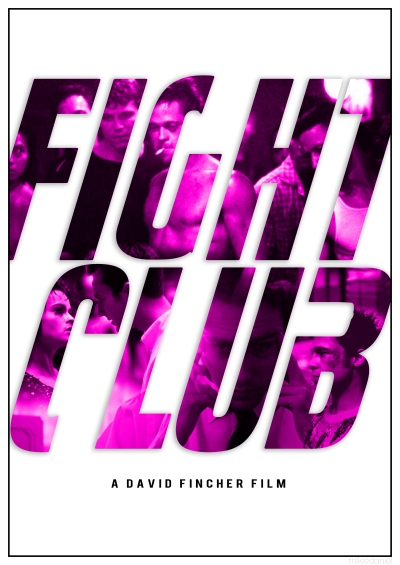 Fight Club Alternative Poster Art