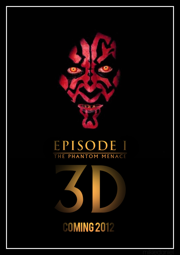 Star Wars Episode I 3D Poster