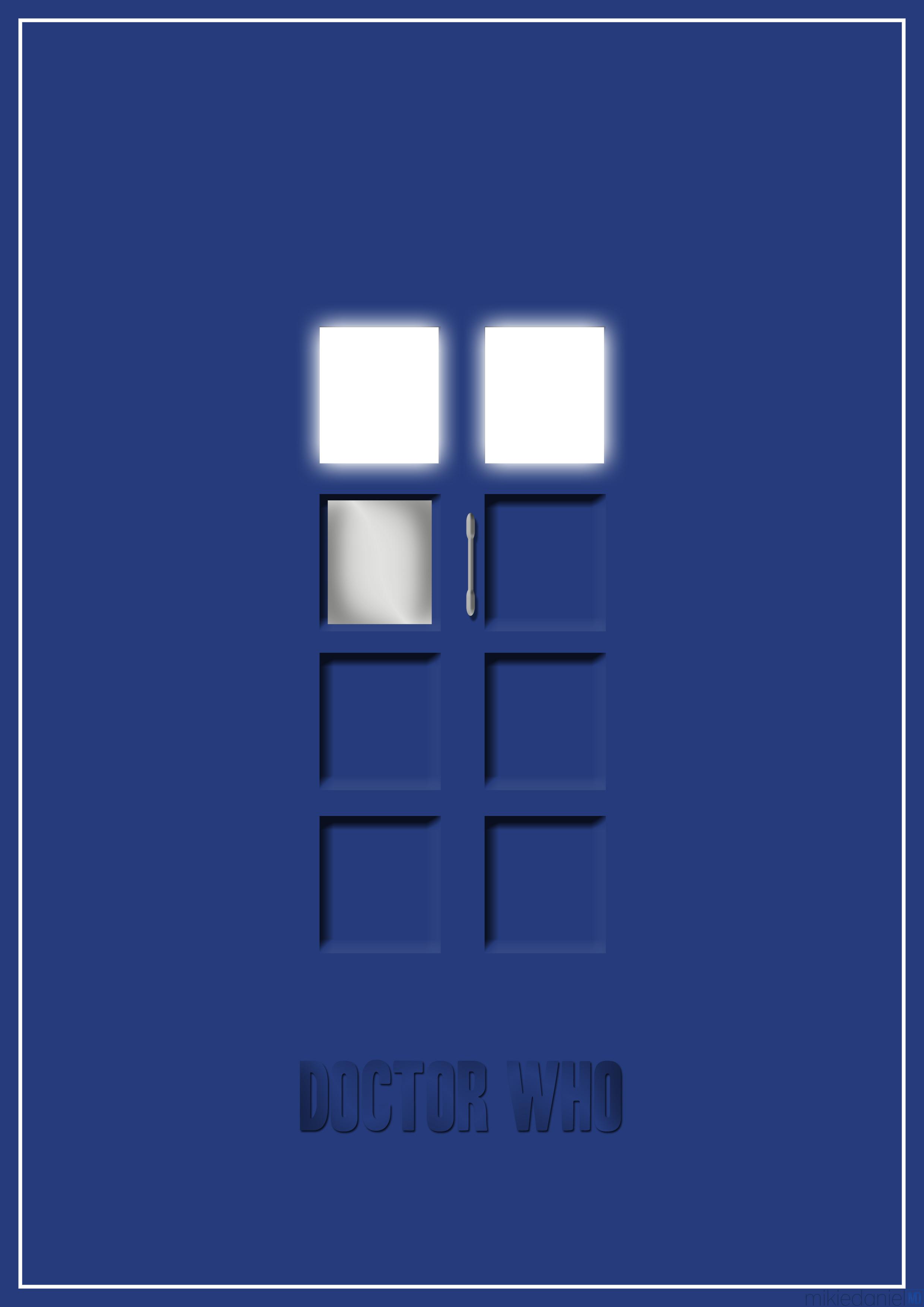 Doctor Who Minimal Posters u2013 Mikie Daniel
