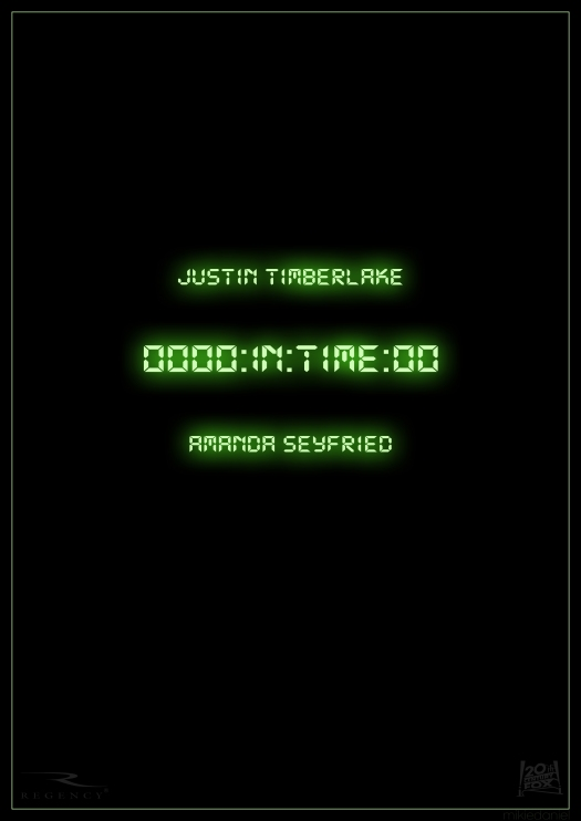 In Time Poster 2011