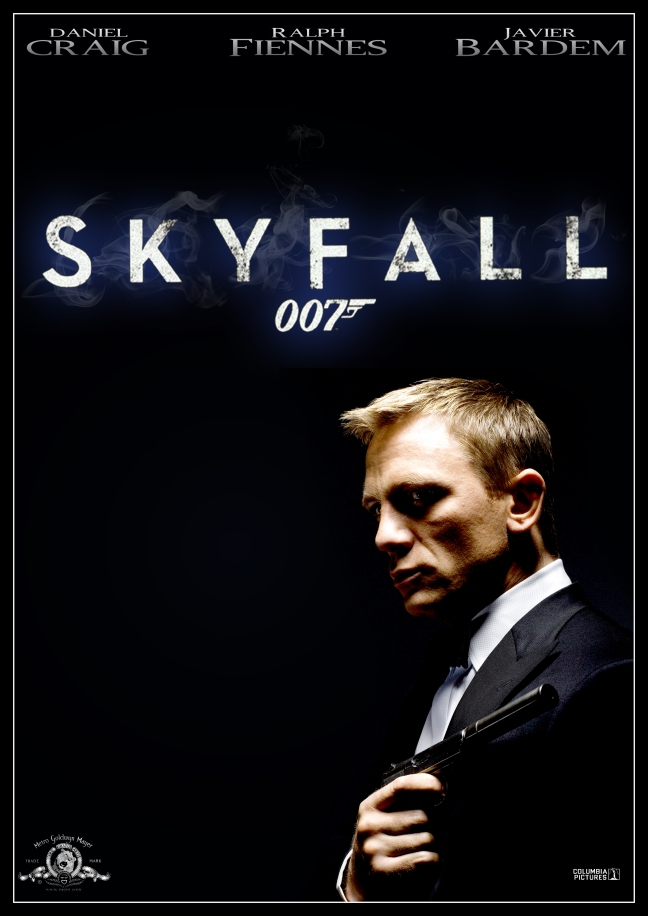 Skyfall Poster James Bond 23